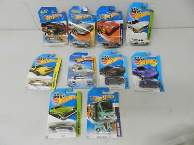 Lot of 10 New in Damaged Packages Hotwheels Cars Ghostbusters 2010