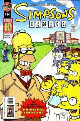 Simpsons Comics #  84 Near Mint (NM) Bongo Comics MODERN AGE