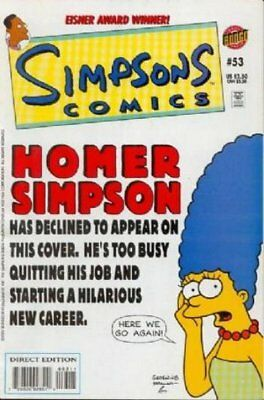 Simpsons Comics #  53 Near Mint (NM) Bongo Comics MODERN AGE