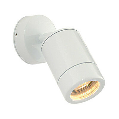 Saxby ST5010W Odyssey Outdoor Adjustable Wall Spot Light IP44 - White LED