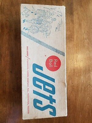 Vintage Red Ball Jets * Shoe Box * RARE *