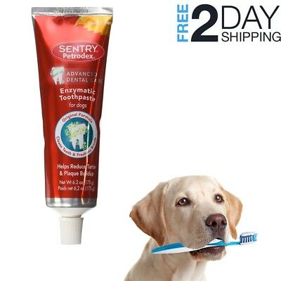 SENTRY Petrodex Enzymatic Toothpaste for Dogs, Poultry, 6.2 oz, Brand New