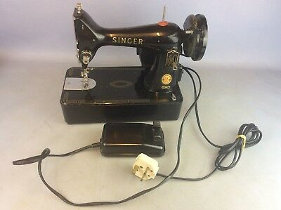 SMALL Singer 99K Electric Sewing Machine Foot Pedal  - NOT FUNCTIONING PROPERLY