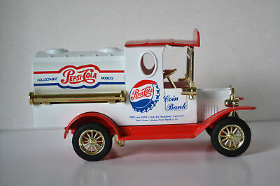 PEPSI COLA TANKER TRUCK BANK, Die-Cast Collectible