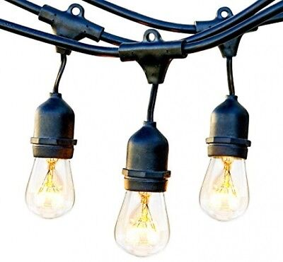 Brightech Ambience Pro - Waterproof Outdoor Incandescent String Lights - 11W -