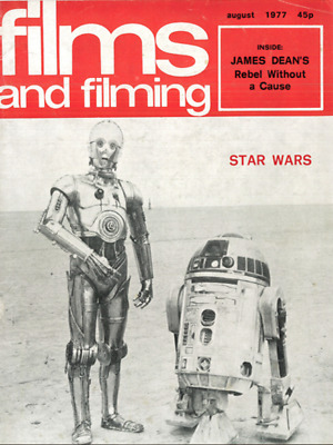 Film and Filming Magazine 1975-1979 PDF Format on DVD Disc Star Wars Jaws Disco