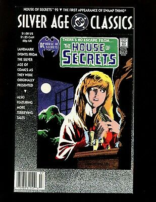 DC Silver Age Classics House of Secrets #92 VF- Wrightson 1st/Origin Swamp Thing