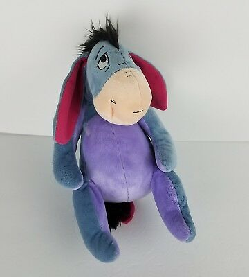 "Disney's 13"" Eeyore Kohls Cares Plush Stuffed Animal Winnie the Pooh EUC"