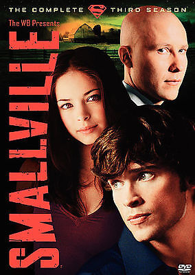 NEW--Smallville - Season 3 (DVD, 2004, 6-Disc Set)