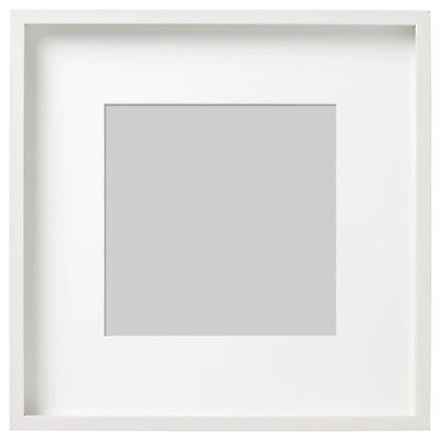 IKEA RIBBA WHITE Dual Use 16 X 20 OR 12 X 16 Picture Photo Frame Art ...