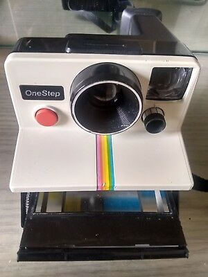 Vintage Polaroid One Step SX-70 Land Instant Camera Untested for parts