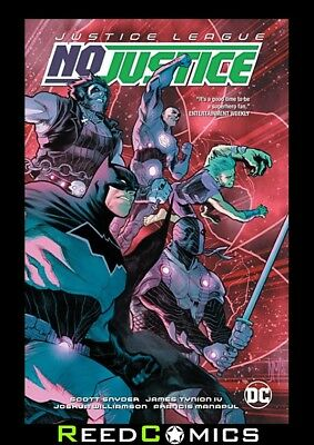 JUSTICE LEAGUE NO JUSTICE GRAPHIC NOVEL Paperback Collects 4 Part Series + more