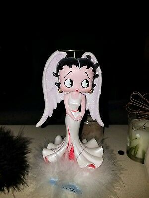 """Betty Boop Figurine Angel Bobble Head- """"it's Not Easy Being This Good"""""""