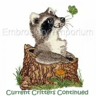 Current Critters Continued Collection - Machine Embroidery Designs On Cd