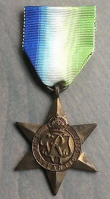 WW2 British/Candian Atlantic Star Medal With Ribbon