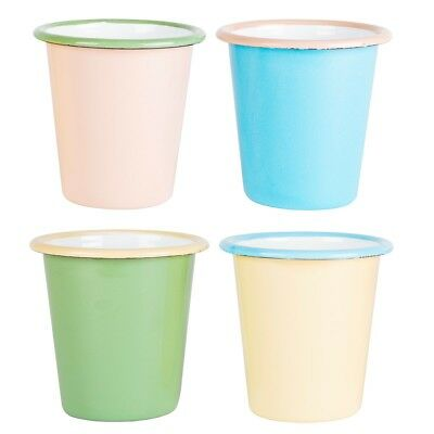 Sass & Belle Two Tone Enamel Camping Cups Set Of 4