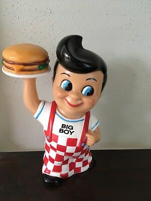 BOB'S BIG BOY Bank Double Hamburger 1999 Used - Good Condition!