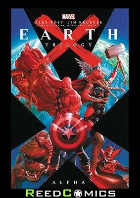EARTH X TRILOGY OMNIBUS ALPHA HARDCOVER (1304 Pages) New Hardback