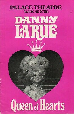 Manchester Palace 1972-73 'queen Of Hearts' Danny La Rue Programme.