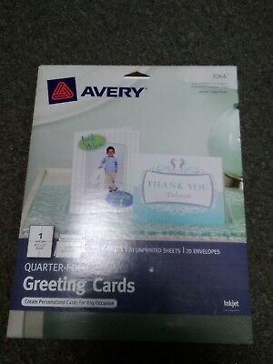Avery Greeting Card 3266