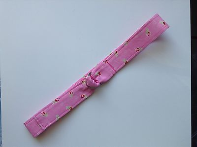 Child Belt Fabric adjustable Pink floral Girl Cute