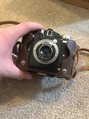 Beacon Photo Camera With Case Whitehose Products Vintage