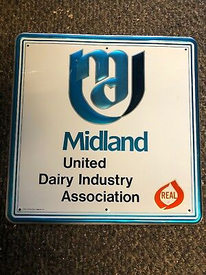 Midland United Dairy Industry Association Ton Sign
