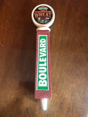 "BOULEVARD Brewing Unfiltered Wheat BEER TAP HAND 11"" Tall"