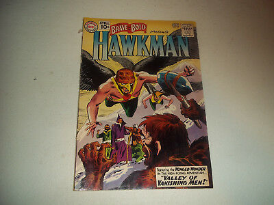 Vintage Brave And The Bold Presents Hawkman #35 Comic Book
