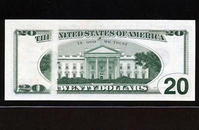 "1996 $20 ""obstructed Print Error"" Cleveland Frn Choice New Uncirculatedvery Rare"