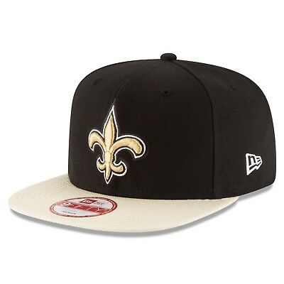 New Era NFL Snapback - NEW ORLEANS SAINTS - OFFICIALLY LICENSED.