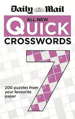 Daily Mail All New Quick Crosswords 7 by Daily Mail Paperback Book Free Shipping