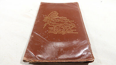 WWII US Army Soldier Leather Gift Wallet of Germany Occupied Tourist