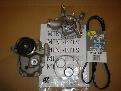 MINI Cooper S Supercharger Snout, Water Pump and Belt Kit