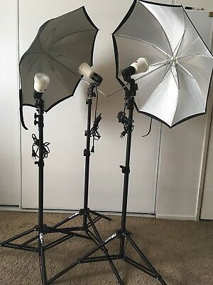 Smith Victor Thrifty Location Lighting Kit