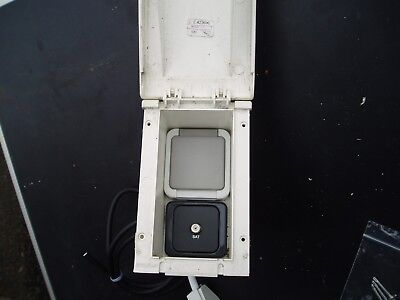 Caravan Motorhome Campervan 240V External Power Socket Box
