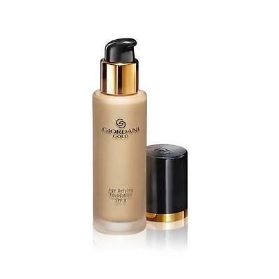 Oriflame Sweden Giordani Gold Age Defying Foundation SPF8 Natural Beige new .
