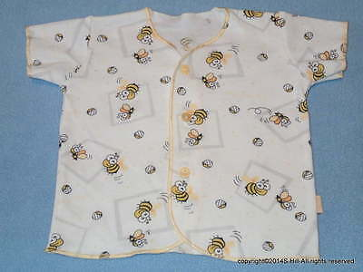 Nova Cute Little One's Cotton Jacket With Cute Bee Print, Size NB (Newborn)