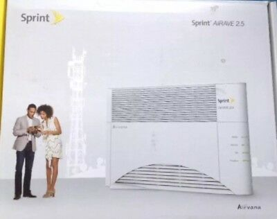 NEW Sprint Airave 2.5 Airvana Access Point Cell Phone Signal Booster OPEN BOX