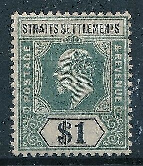 [39740] Straits Settlements 1902 Good stamp Very Fine MH