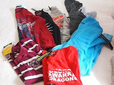 7 X Pieces, 5X Tshirts Nwt 2 X Jumpers 1 Nwt, Billabong,size 12 And 14
