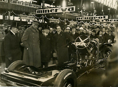 1927 Motor Show Brusels  Period Photograph
