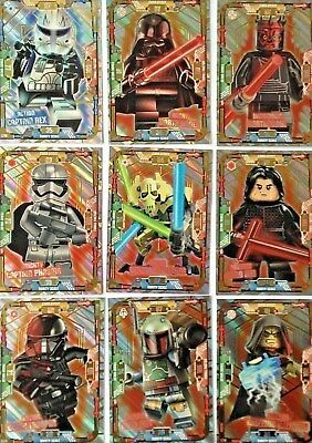 LEGO STAR WARS SERIES 1 Trading Cards - Limited Edition 1-20 - Buy 3 Get 1 Free