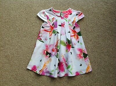 Baby Girls Ted Baker Dress Age 12-18 Months
