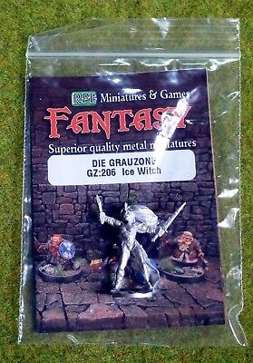 RAL PARTHA ICE WITCH Die Grauzone GZ:206 AD & D Frostgrave METAL NEW [379]