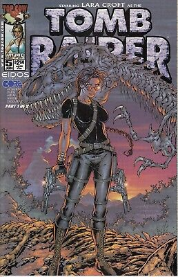 TOMB RAIDER 5...NM-...2000...Andy Park.. .HTF Bargain!