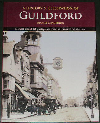 GUILDFORD LOCAL HISTORY Surrey Town Memories Old Photographs Streets Buildings