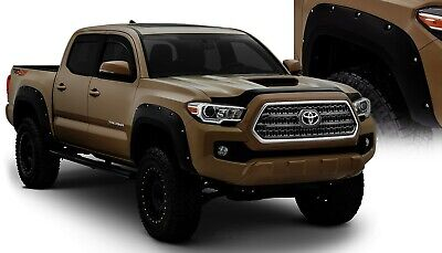 Front And Rear Fender Flares For 2016 2018 Toyota Tacoma 2017 Bushwacker 499 00 Picclick
