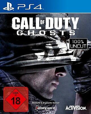 Call of Duty: Ghosts, 100% Uncut (Sony PlayStation 4)