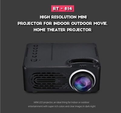 LED Mini Projector 30 Lumens 2.0 inch LCD TFT Display Photo Music Movie Home